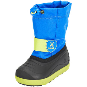 Kamik Jet Shoes Child blue lime